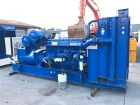 910 kva PERKINS Open Set  (only 74 hours)
