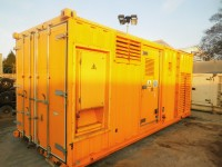 880 kVA FG Wilson, Perkins Eng, Leroy Somer Alt, 2001